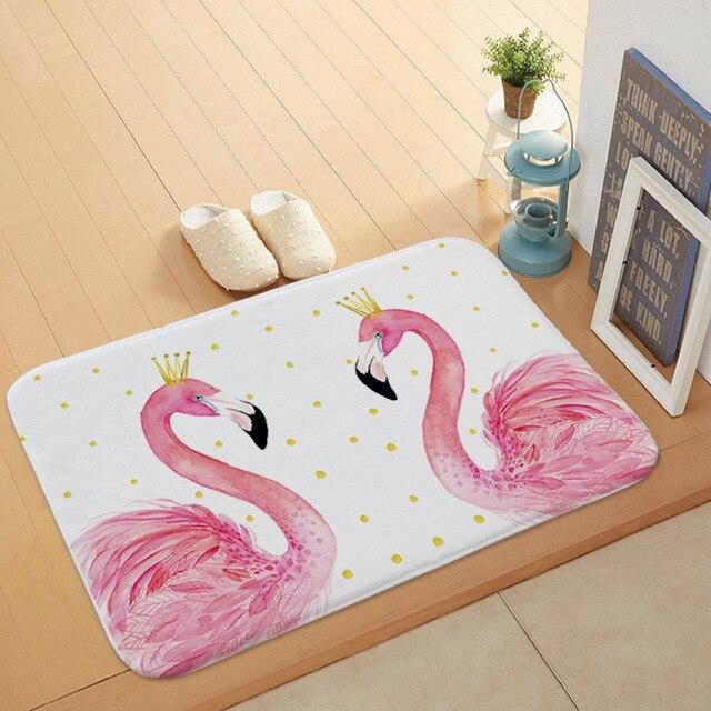 Creativo Flamingo Modello Da Bagno Zerbino Cucina Bagno Piano Porta Zerbino Supe