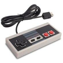 עבור Nintend NES קלאסי מהדורת מיני Wii משחק קונסולת בקר Gamepad ג ויסטיק עם 1.8m להאריך כבל מתנות Wii בקר