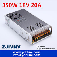 Best quality 2 year wannanty 18V 20A 350W Switching Power Supply Driver for CCTV camera LED Strip AC 100 240V Input to DC 18V