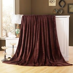 Image 1 - CAMMITEVER colcha Franela suave para sofá, cama, coche y oficina, manta de forro polar
