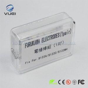 Image 5 - Furukawa Fitel elektrotlar S122A S122C S122M4 optik Fiber füzyon Splicer elektrotlar çubuk 1 çift