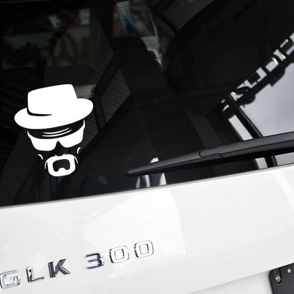 Aliauto車のスタイリング食客ウォルター·ホワイト車のステッカー/デカール用フォルクスワーゲンポロゴルフbmwシボレークルーズプジョートヨタ起亜