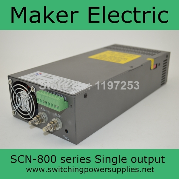 CE approved Factory outlet ! High power 800W AC DC 48V 16A Switching Power Supply SCN-800-48 chinese wholesale ce approved led ac dc 24v 20a switching power supply 500w power supply units