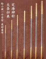קידום מכירות קוף מלך נשק jingubang Wukong שמש זהב cudgels מתנות אמנויות לחימה נירוסטה חישוק ילד מקל צעצוע למבוגרים