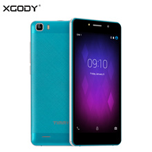 Free Shipping XGODY M123G Unlock 5.5 Inch Smartphone Android 5.1 MTK MT6580Quad Core 1G +8 G 1280 *720IPS Mobile Phone Cellphone