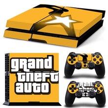 Grand Theft Auto PS4 Skin Sticker Cover