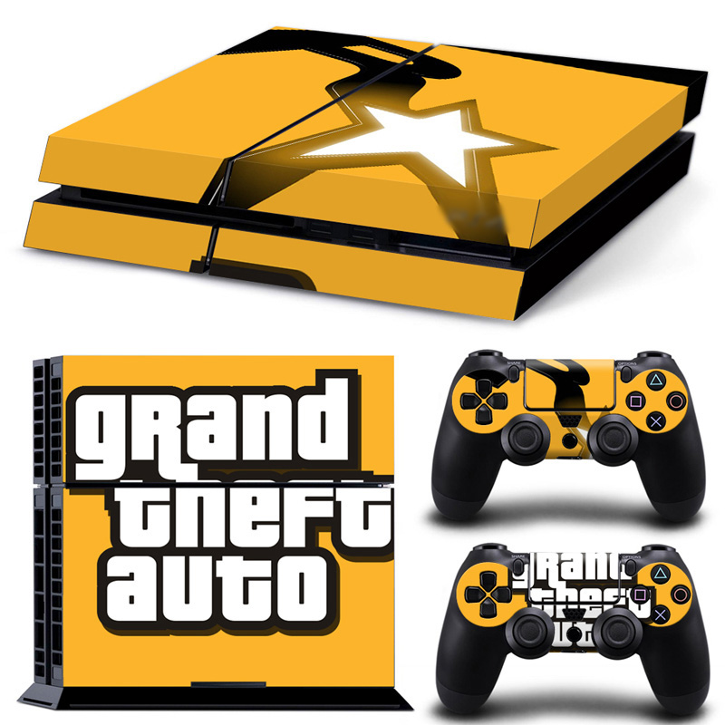 For Sony Playstation 4 Console And Controllers Cover Decal Games PS4 Skin Sticker PS 4 Accessories
