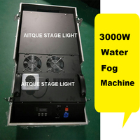 Wedding Dj power dmx 3000w fog smoke machine low lying fog generator water fog machine 3000 watt