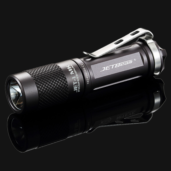 Jetbeam JET-I MK  Cree XP-G2 LED Flashlight -480 Lumens w/8x Eco-Sensa AA Batteries w/ Exclusive Jetbeam Keychain Light sensa rt z8200