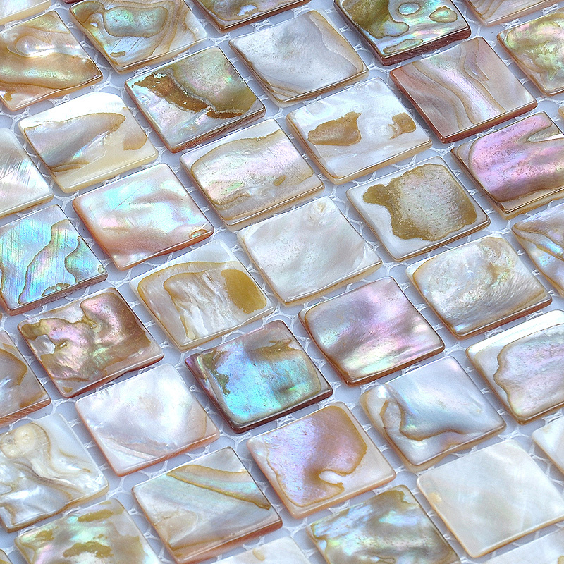 white mother of pearl sell iridescent