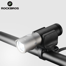 ROCKBROS MTB Bicycle Light Waterproof USB Rechargeable 3000 mAh Power Bank 1000 Lumen Led Bike Front Headlight Bike Accessories
