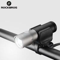 ROCKBROS MTB Bicycle Light Waterproof USB Rechargeable 3000 mAh Power Bank 1000 Lumen Led Bike Front Headlight Bike Accessories