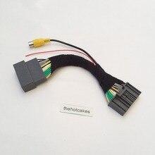 Thehotcake для Honda для Civic(FB) EXI 2011~ камера заднего вида адаптер разъем провода кабель видео вход переключатель RCA