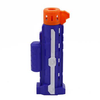 Electronic Submachine Toy Gun for NERF Rival Elite Series Soft Bullet Gun Darts Blaster Outdoor Fun & Sports Toy Gift for Kids