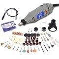 Hilda 220 v 150 w com 133 pcs acessórios ferramenta rotativa de velocidade variável elétrica mini broca com haste flexível poder ferramentas