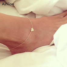 Female Anklets Barefoot Crochet Sandals Foot Jewelry Leg New Anklets