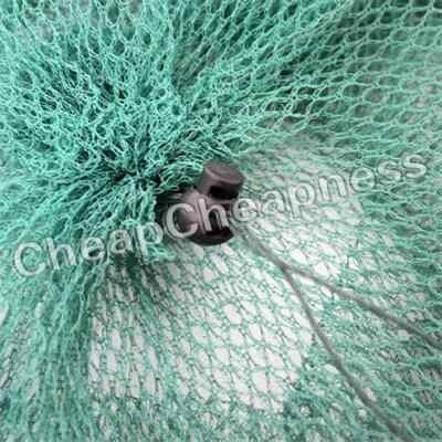 2016 składany kraba ryby Crawdad krewetki Minnow przynętę pułapka Dip siatka do odławiania ryb specjalny zamek nylonowa siatka wędkarska klatka