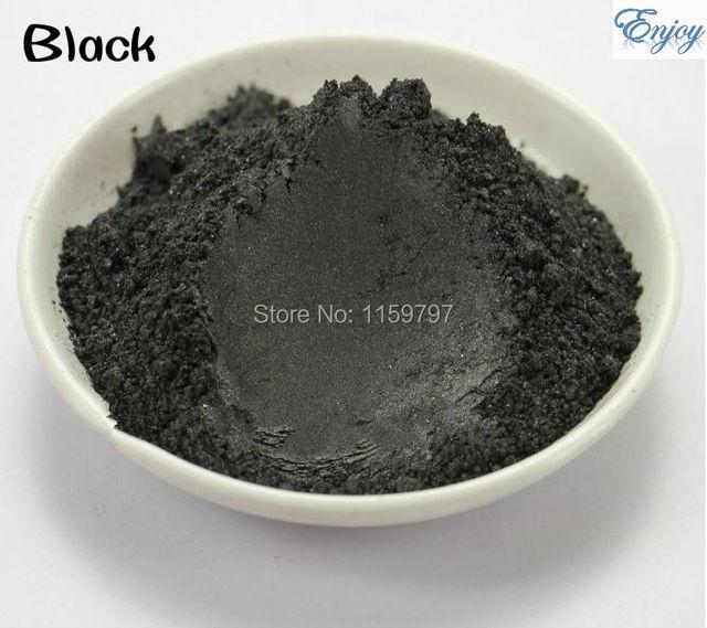 Multipurpose Pearlescent Pigment,Black color mica powder for make up 500g/lot