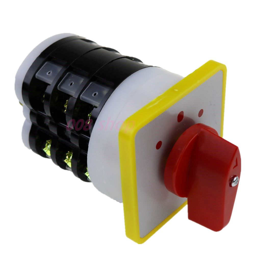 16a rotary switch 3 phase switch 3 position selector switch cam starter switch control motor LW5-16/3 turbine