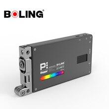 볼링 BL P1 12W 사진 조명 RGB 풀 컬러 디 밍이 가능한 2500K 8500K DSLR 카메라 스튜디오 Vlogging LED 빛