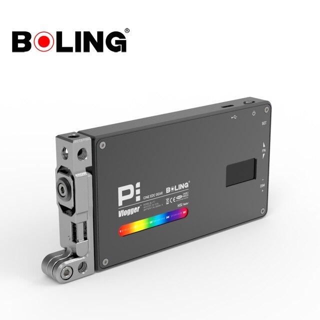בולינג BL P1 12W צילום תאורה עם RGB מלא צבע Dimmable 2500K 8500K עבור DSLR מצלמה סטודיו vlogging LED אור