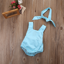 Cute Infant Baby Girl Romper Summer Sunsuit