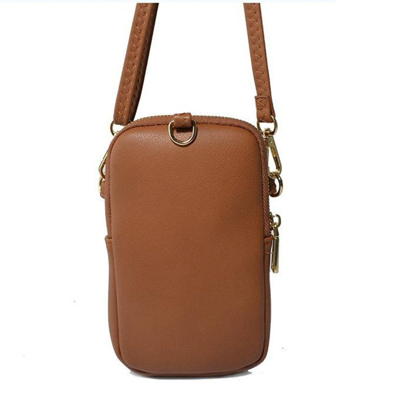 Mini Women Shoulder Bags Female Handbag Phone Wallet Women Messenger Bag Brand Designer Small Crossbody Bag Ladies Wallet Purse in Shoulder Bags from Luggage Bags