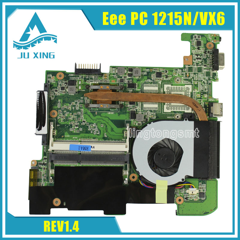For Asus Eee PC 1215N/VX6 laptop motherboard rev 1.4 integrated fully tested купить
