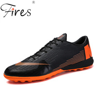 Fires Spring Men Football Shoes Turf Soccer Sneakers Outdoor Lawn Sport Shoes 3 Colors Soft Sneakers Non slip Training Shoes