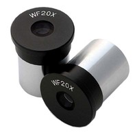 Free shipping--AmScope Pair of WF20X Microscope Eyepieces (23mm)