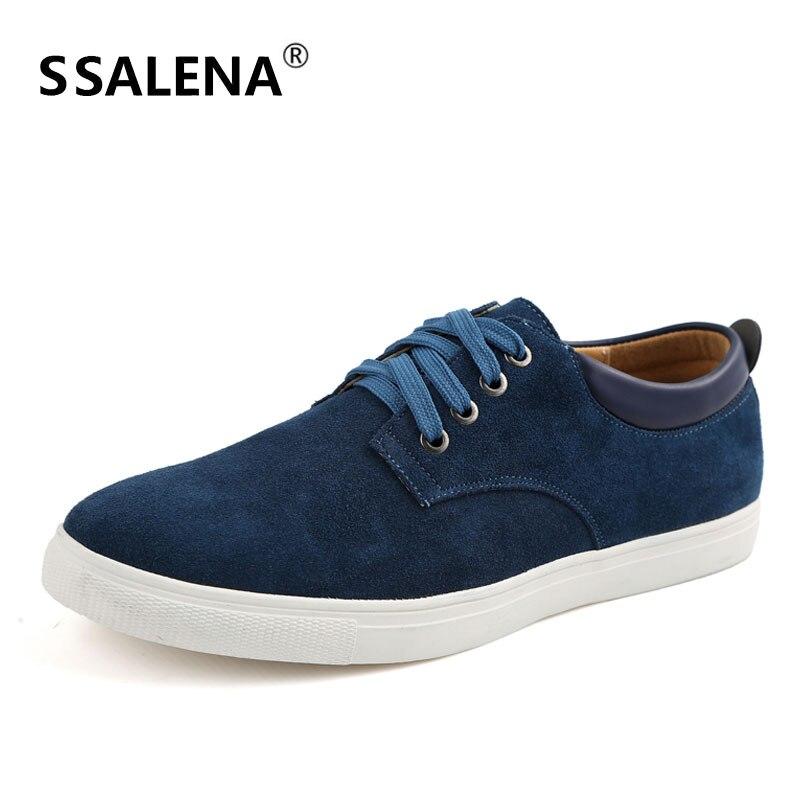 Men's Shallow Vulcanize Shoes Men Leather Comfortable Lightweight Sneakers Man Lace Up Designer Shoes Size EU38 48 AA51680