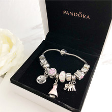 Women bracelet pandora charms silver 925 original pandora watch Luxury