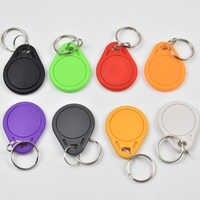 10 pçs/lote EM4305 Cópia Regravável Gravável Rewrite Anel Chave Tag RFID 125KHZ Cartão EM ID keyfobs Proximidade Token de Acesso Duplicado