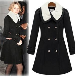 Aliexpress.com : Buy Winter Women's Cashmere Cloak Outerwear Wool ...