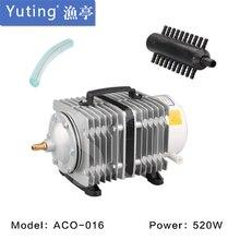 450L/min 520W SUNSUN ACO 016 ACO016 elektromanyetik hava kompresörü hava pompası için akvaryum balık tankı su ürünleri