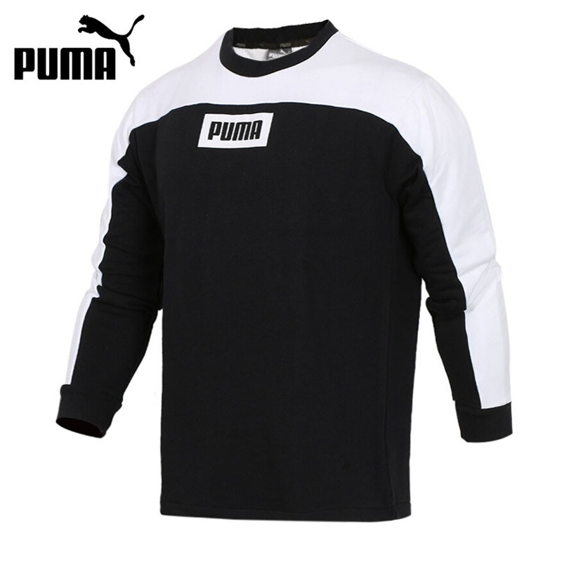 Original New Arrival 2018 PUMA Rebel Block Crew TR Men's  Pullover Jerseys Sportswear adidas original new arrival official neo women s knitted pants breathable elatstic waist sportswear bs4904