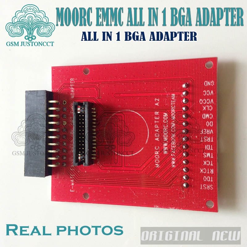 2019 Newest update MOORC JTAG ISP Adapter ALL IN 1 For RIFF EASY JTAG PRO  JTAG MEDUSA EMMC E-MATE BOX ATF BOX