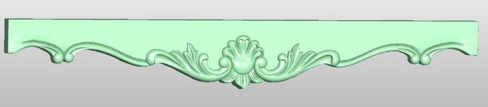 3D Model STL Format File For Cnc Router Engraving Furniture Sofa Cabinet Chair Leg Pattern Artcam 811