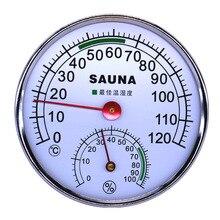 Термометр гигрометр термограф измеритель влажности гидротермограф Метеостанция для сауны Индуктивный указатель 0C-120C