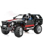 DECOOL technic 3341 589pcs Transport SUV Racing Car Model Building Block education toys for children