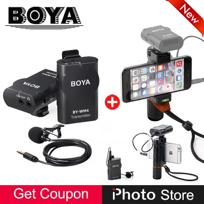 Micrófono inalámbrico compacto de iPhoto + Kit de clip de teléfono - Cámara y foto