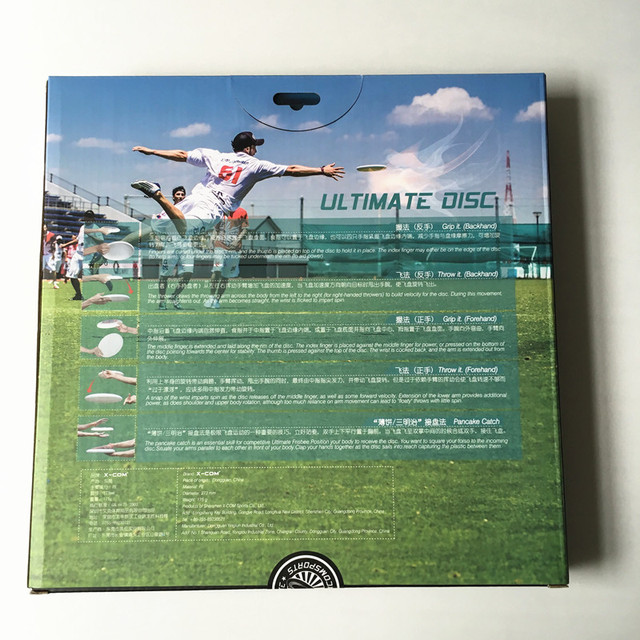 Sports Discs X COM Professional Ultimate Flying Disc Certified by WFDF