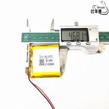 3.7 V 2800 mAh 114046 Lithium polymère li po Li ion piles rechargeables pour Mp3 MP4 MP5 GPS