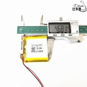Image 1 - 3.7 V 2800 mAh 114046 ליתיום פולימר ליטיום li יון נטענת סוללה תאים עבור Mp3 MP4 MP5 GPS