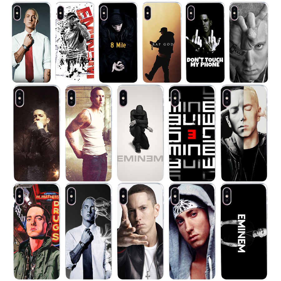 155we Hip Hop Rapper Eminem Rap Hard Soft Silicone Tpu Cover Phone Case For Iphone 5 5s Se X Xr Xs Max Case