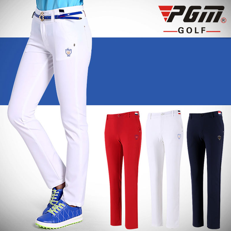 PGM Women Golf Pants Trousers Sportwear Female Slim Quick Dry Elastic Summer Thin Leisure Outdoor Sports Clothing Wear PantsPGM Women Golf Pants Trousers Sportwear Female Slim Quick Dry Elastic Summer Thin Leisure Outdoor Sports Clothing Wear Pants