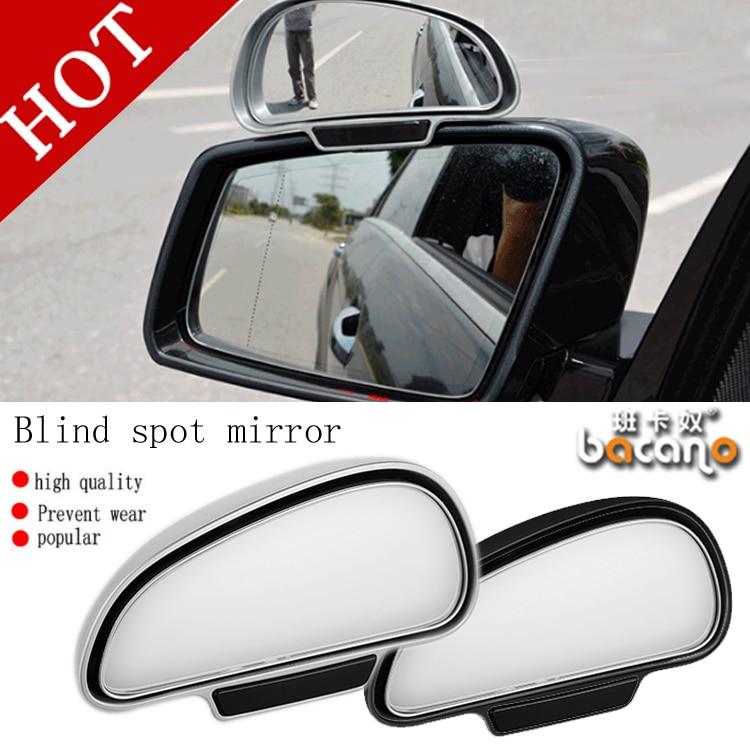 Bacano 2 UNIDS / set Car Styling Universal Car espejo retrovisor - Accesorios de interior de coche