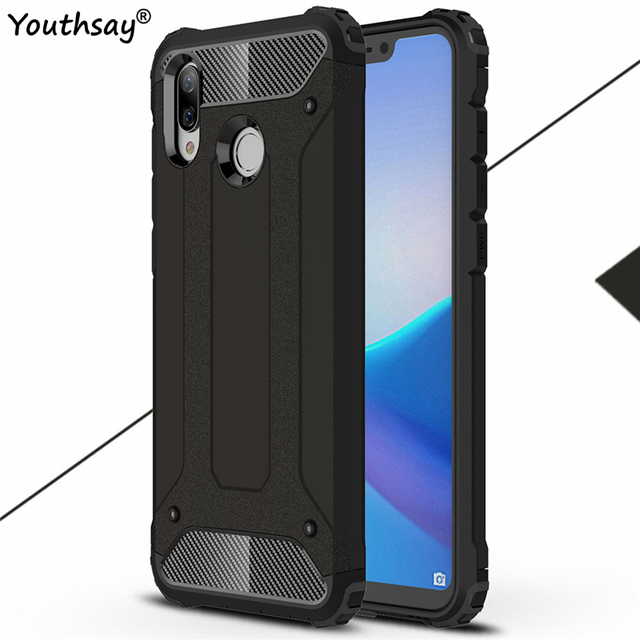 sneakers for cheap 7b3d9 486dc US $2.64 38% OFF|sFor Huawei Honor Play Case Armor Rubber Hard Back Case  For Huawei Honor Play 2018 Back Cover For Huawei Honor Play Coque Fundas-in  ...