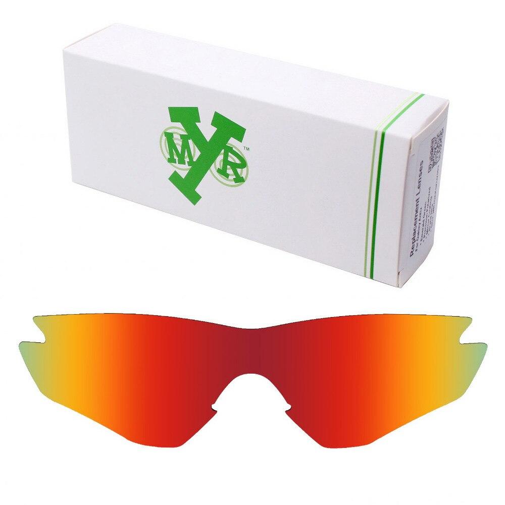 Mryok M2 Quadro POLARIZED Lentes de Reposição para óculos Oakley Óculos De  Sol Fogo Vermelho a784d3a6a7