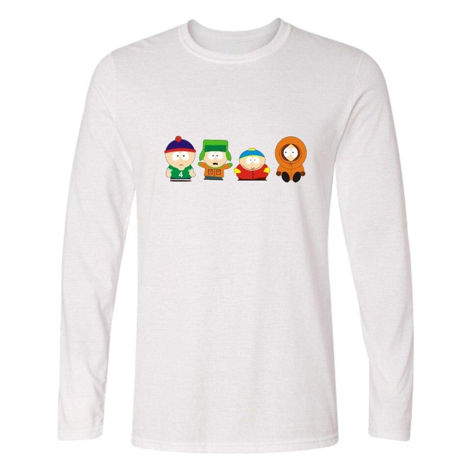 df58cb961c4 Cartoon Sitcoms South Park Men TShirt Long Sleeve T Shirts and ERIC Cartman  Cotton T-shirt Solid with Tee Shirt Brand 3xl 4xl